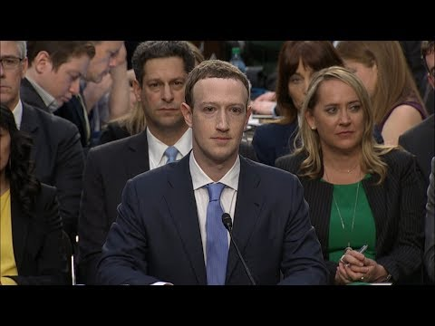 Facebook CEO Mark Zuckerberg testimony on data privacy before Senate committee | ABC News
