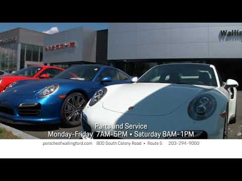 Porsche Of Wallingford >> Porsche Of Wallingford Has The Porsche You Ve Always Wanted Youtube