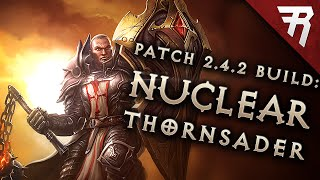 Diablo 3 2.4.2 Crusader Build: Thorns Bombardment GR 98+ (LoN, Season 7 Guide)