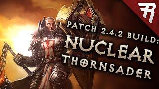 Diablo 3 2.4.3 Crusader Build: Thorns Bombardment GR 98+ (LoN, Season 9 Guide)