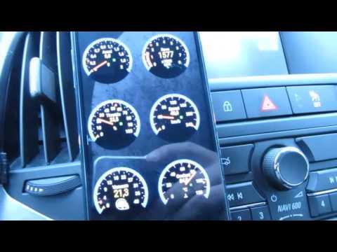 Torque + OBD2-ELM327 (Opel Astra J)