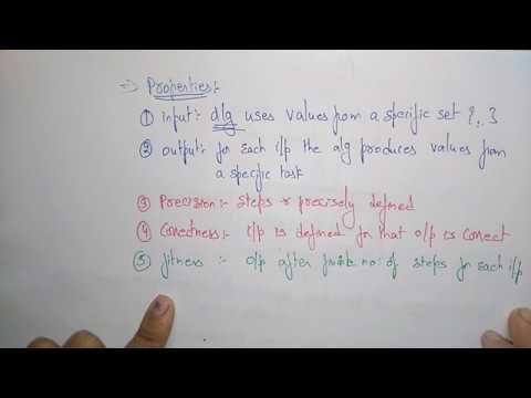 Algorithm introduction | Design & Algorithms | Lec-1 | Bhanu Priya