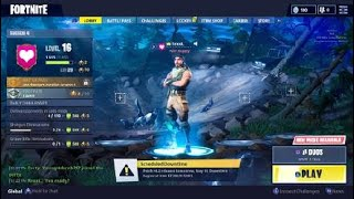 Fortnite PS4 - Squad Matches And Making Progress