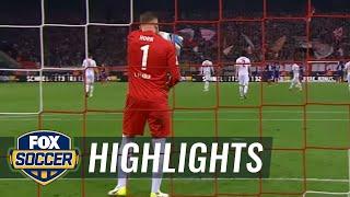 Serge Gnabry scores for Werder Bremen   2016 - 17 Bundesliga Highlights