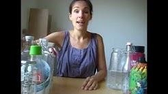 Plastikfrei unterwegs - Trinkflaschen und Brotdosen!