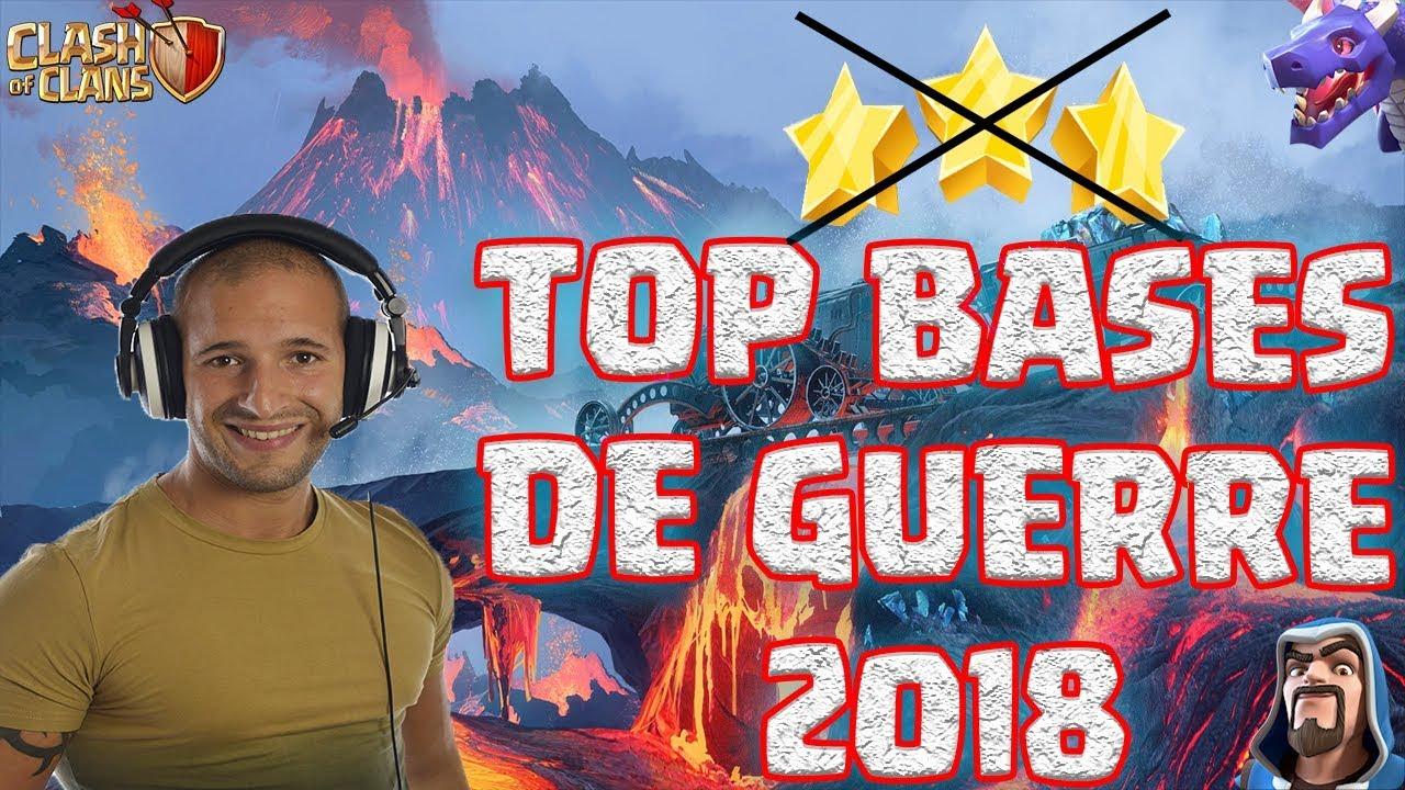 MEILLEURES BASES DE GUERRE 2018 | HDV 8, 9, 10 & 11 | Clash of clans