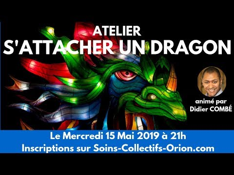 """[BANDE ANNONCE] Atelier : """"S'attacher un Dragon"""" avec Didier COMBÉ le 15 Mai 2019 à 21h"""