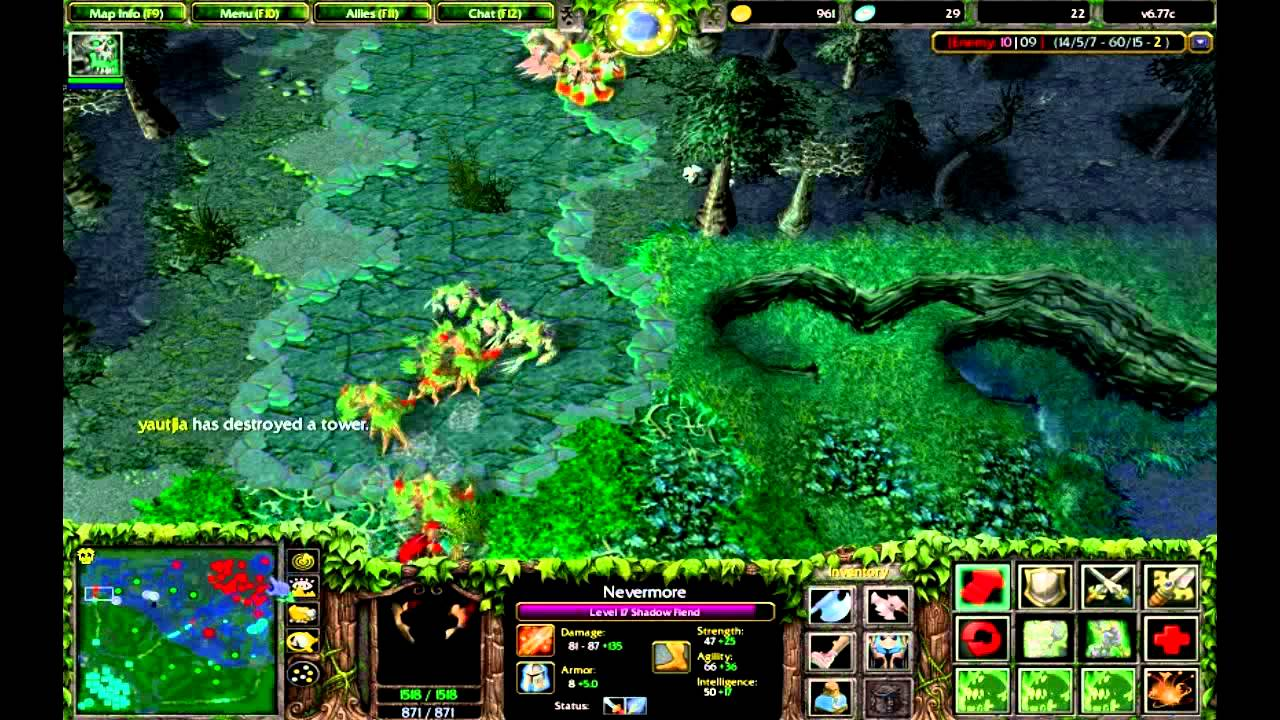 Dota- Nevermore Gameplay - YouTube   1280 x 720 jpeg 170kB