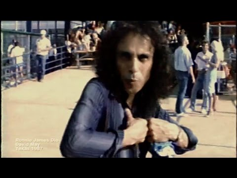 Ronnie James Dio 1987 Dream Evil Interview David May