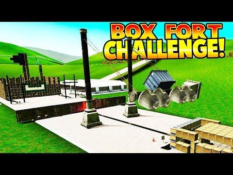 FUN BOX FORT CHALLENGE! | Garrys Mod Gameplay | Gmod Gameplay - BOX FORT FUN FOR KIDS!