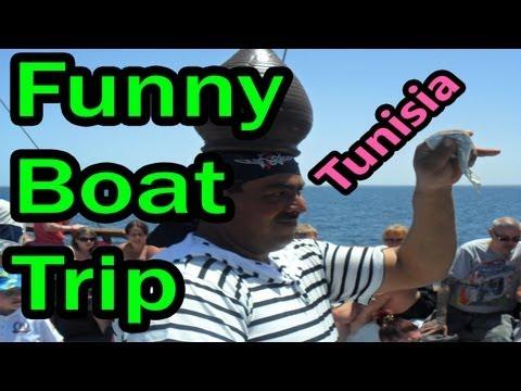 A VERY Interesting Boat Trip in Tunisia