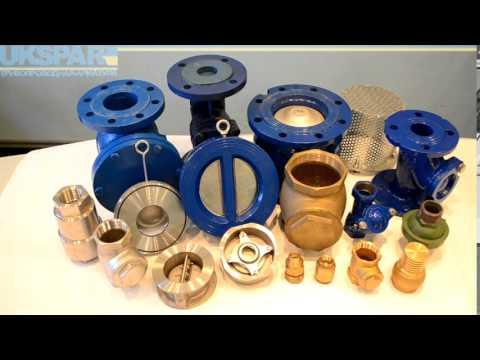 Обратные клапаны. Общий видео обзор обратных клапанов от UKSPAR