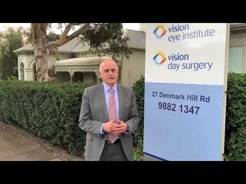 768bca36562 Vision Eye Institute Camberwell clinic introduction by Dr Joe Reich ...