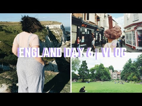 ENGLAND DAY 6: CANTERBURY & THE WHITE CLIFFS OF DOVER   VLOG