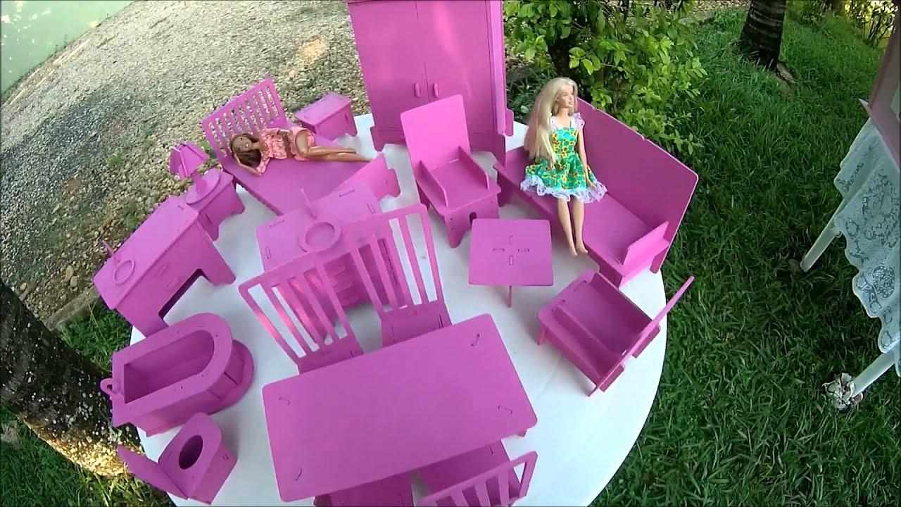 Moveis barbie para casa de boneca barbie moveis link - Supercasa de barbie ...