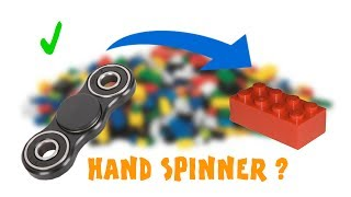 A hand spinner all in Lego - HTML #5