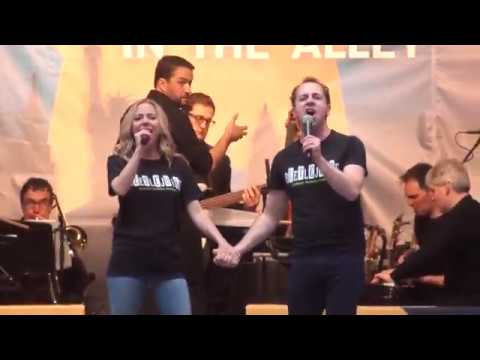 Kerry Butler And Rob Mcclure Barbara 2 0 From Beetlejuice Stars In The Alley 5 10 19 Youtube