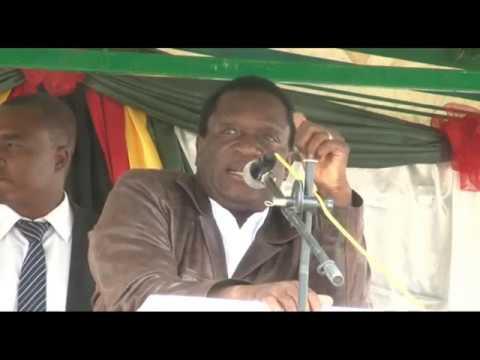 VP Mnangagwa Speaking in Masvingo during the Inaugural Historical Tourism Enshriunement Launch