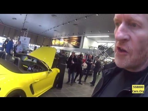 Porsche 718 Boxster - Launch