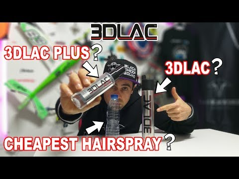 3D PRINT - 3DLac Plus or 3DLac or Cheapest HairSpray?