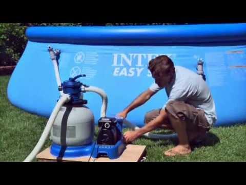 intex sand filter backwash instructions