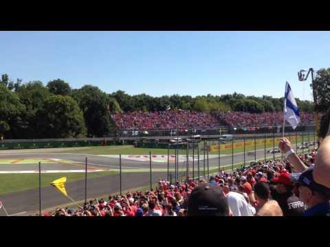 Formula 1 Start GP Italy Monza 2015