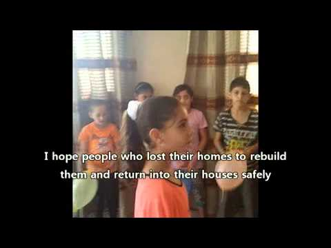 Interviews with the Children of Gaza,mahmoud arafat