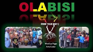 Nicole D. Ford (Las Vegas) - Drums: Olabisi African Dance and Drum Ensemble (Unity In the Community)