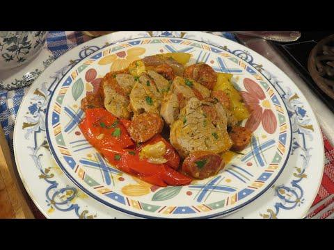 recette-:-filet-mignon-de-porc-au-chorizo-en-cocotte---mère-mitraille---canal-gourmandises