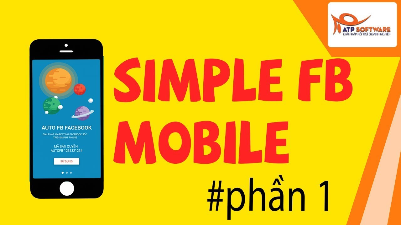 Hướng dẫn sử dụng  Simple FB mobile | Simple facebook app điện thoại – PHẦN 1 #simplefbmobile
