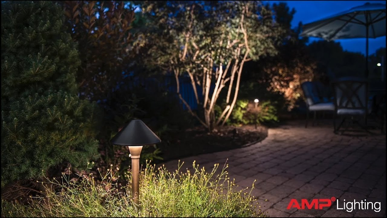 Amp Conicapro Led Path Area Light