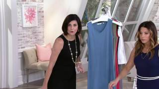 Liz Claiborne New York Essentials V-Neck Maxi Dress on QVC