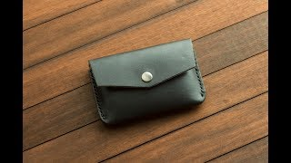 Levart Leather Snap Leather Minimalist Wallet Review