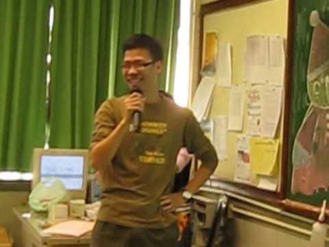 SMCC 4F(2007)Christmas Celebration//Mr. Lee 唱出超人迪加