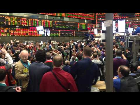 CHICAGO BOARD OF TRADE TRADING PITS WHEN ELECTRONIC PLATFORM CRAHSES