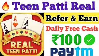 Teen Patti Real | Best Teen Patti Game 2020 | How To Earn 1000 Rs Per Day | How To Play Teen Patti screenshot 5