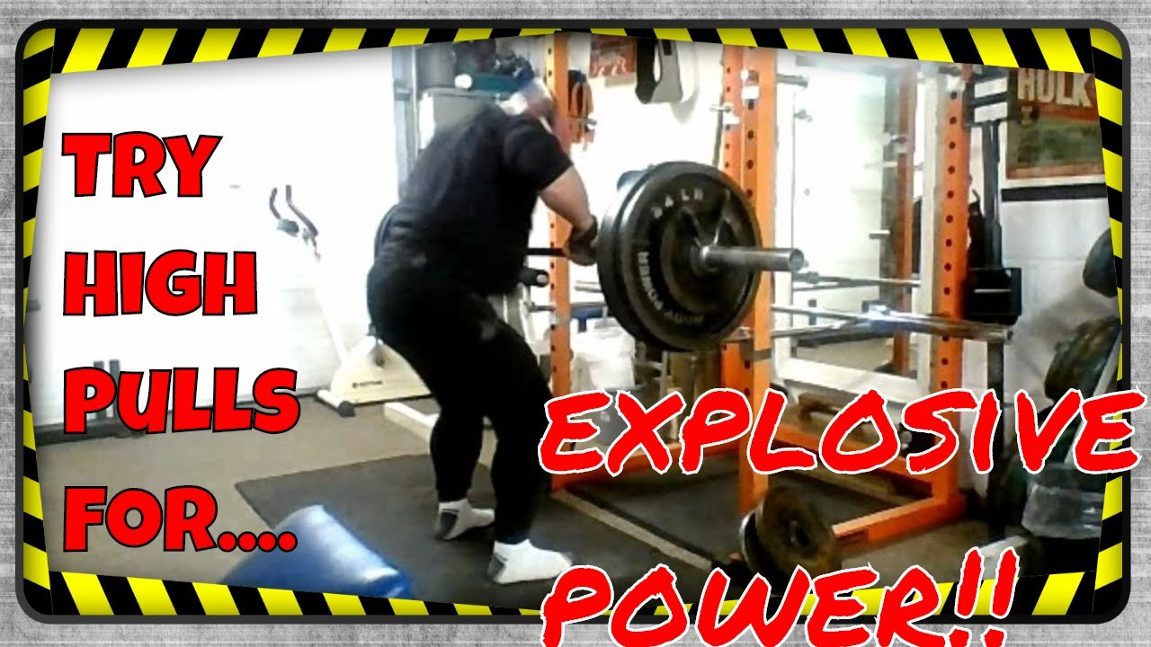 49 Yr Old High Pulls 385lbs To Chest Height + 400lbs Rows+Good-Mornings 308lbs x 12 Reps Back-2-Back