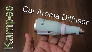 Kampes Car Aroma Diffuser with USB Charging Port Car Charger for Rs. 1,299