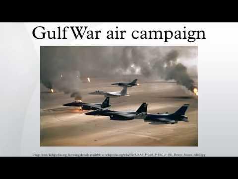Gulf War air campaign