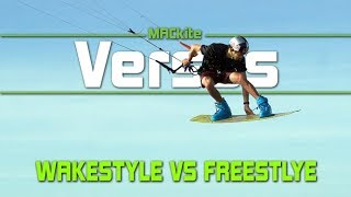 wakestyle kiteboarding vs freestyle versus ep 26