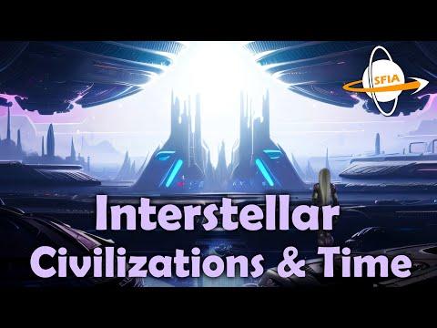 Interstellar Civilizations & Time