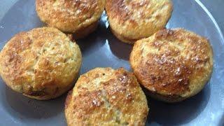 Пирожки -Маффины с мясной начинкой/ рецепты Дюкана