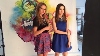 Катя Клэп и Соня Есьман ELLE girl Март 2015 (съемка)