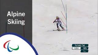 Marie BOCHET| Women's Slalom Runs 1&2 |Alpine Skiing | PyeongChang2018 Paralympic Winter Games