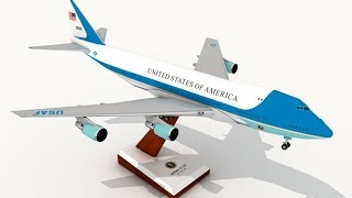 Air Force One Boeing VC-25 Papercraft
