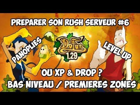 Ou Xp Drop Dofus Rétro Premiers Levels Drop Préparer Son Rush Serveur 6