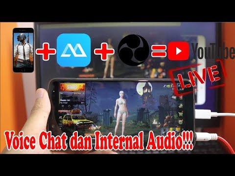 Cara Live Stream Game HP Dengan Screen Mirror Di OBS + Internal Audio Dan Voice Chat!!!
