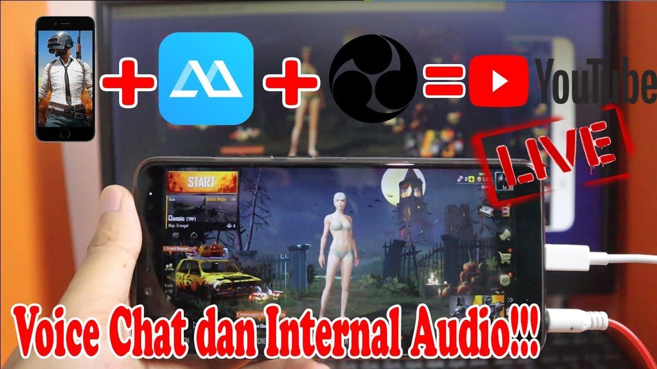 Cara Live Stream Game Hp Dengan Screen Mirror Di Obs Internal