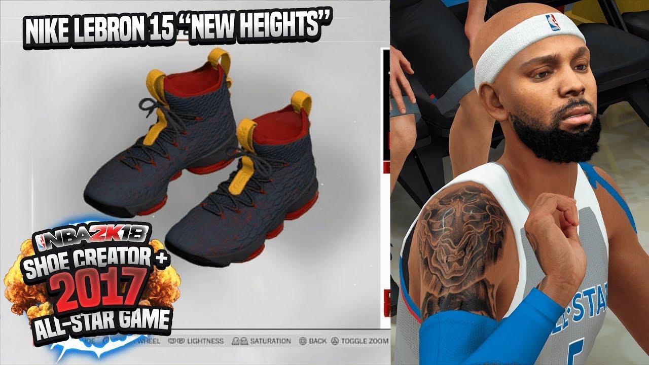 NBA 2K18 MyCAREER - 2018 ALL-STAR GAME! Custom LeBron 15 Creation Ep. 24  (PS4 Pro Gameplay)