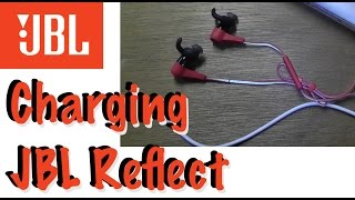 charging jbl reflect bt how to